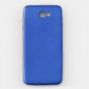 Ốp lưng dẻo Samsung Galaxy J7 Prime nhung (xanh)