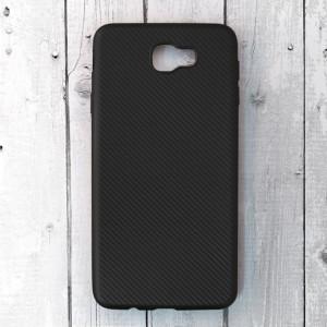 Ốp lưng dẻo Samsung Galaxy J7 Prime vân Carbon (Đen)