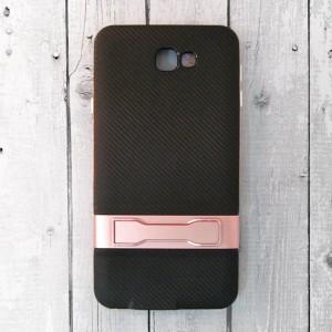 Ốp lưng Samsung Galaxy J7 Prime vân Carbon (Hồng)