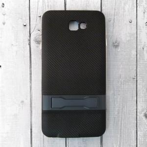Ốp lưng Samsung Galaxy J7 Prime vân Carbon (Xanh)