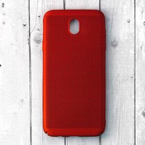 Ốp lưng lưới Samsung Galaxy J7 Pro chống nóng (Đỏ)