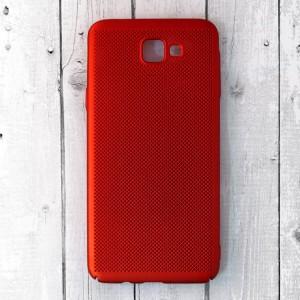 Ốp lưng lưới Samsung Galaxy J7 Prime chống nóng (Đỏ)