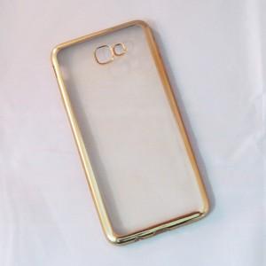 Ốp lưng Samsung Galaxy J7 Prime viền màu (Vàng)
