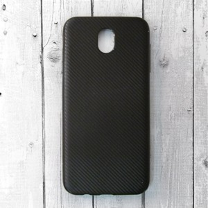 Ốp lưng Samsung Galaxy J7 Pro vân Carbon (Đen)