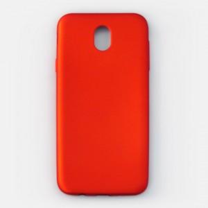 Ốp lưng dẻo Samsung Galaxy J7 Pro nhung (đỏ)