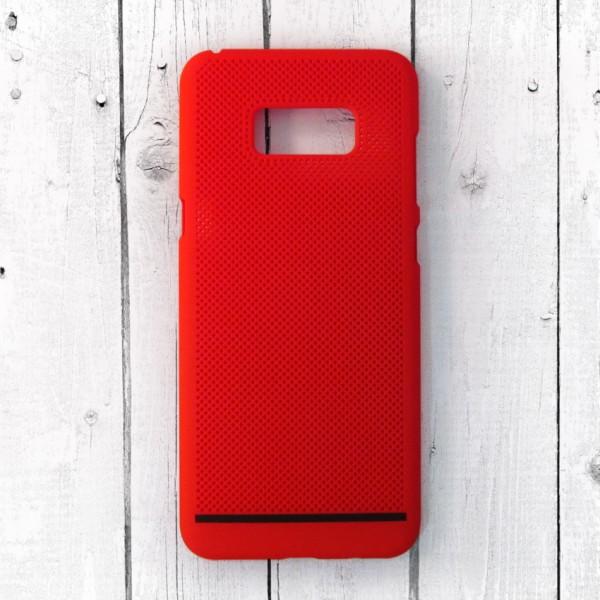 Ốp lưng lưới Samsung Galaxy S8 Plus chống nóng (Đỏ) (1)