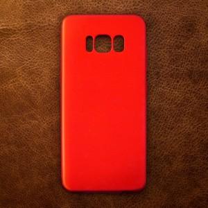 Ốp lưng dẻo Samsung Galaxy S8 nhung (đỏ)