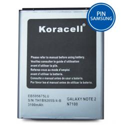 Pin Samsung Galaxy Note 2 (N7100) hiệu Koracell