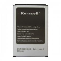 Pin Samsung Galaxy Note 3 (N9000) - 3200mAh hiệu Koracell