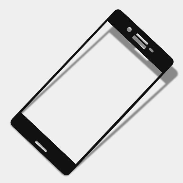 Miếng dán cường lực Sony Xperia X 9H Full màn hình Đen