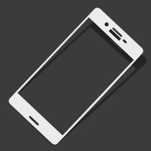 Miếng dán cường lực Sony Xperia X 9H Full màn hình Trắng
