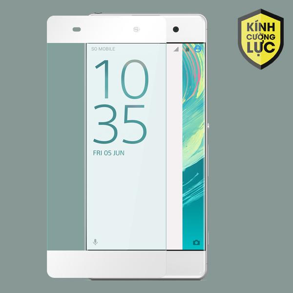 Miếng dán cường lực Sony Xperia XA 9H Full màn hình trắng