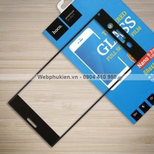Miếng dán cường lực Sony Xperia XZ Premium hiệu HOCO Full màn hình (Đen)