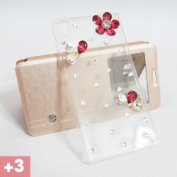 Ốp lưng Sony Xperia Z3 dẻo đính đá tuyệt đẹp