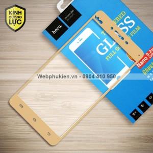 Miếng dán cường lực Vivo V3 Max hiệu HOCO Full màn hình (Vàng)