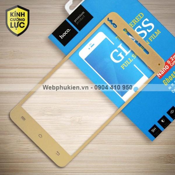 Miếng dán cường lực Vivo V3 hiệu HOCO Full màn hình (Vàng)