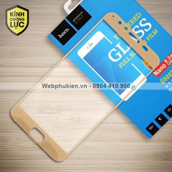 Miếng dán cường lực Vivo V5 Plus hiệu HOCO Full màn hình (Vàng)