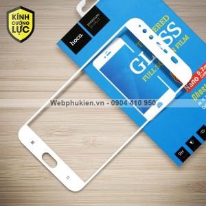 Miếng dán cường lực Vivo X9 Plus hiệu HOCO Full màn hình (Trắng)