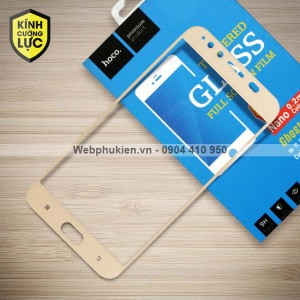 Miếng dán cường lực Vivo X9 Plus hiệu HOCO Full màn hình (Vàng)