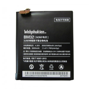 Pin Xiaomi Mi 4 (BM32) - 3080mAh Original Battery