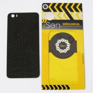 Miếng dán da Bò Xiaomi Mi 5 hiệu iSen (Nâu)