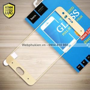 Miếng dán cường lực Xiaomi Mi 6 Mi6 hiệu HOCO Full màn hình (Vàng)