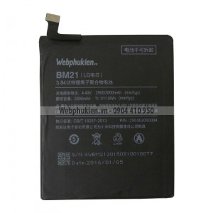 Pin Xiaomi Mi Note (BM21) - 3000mAh Original Battery