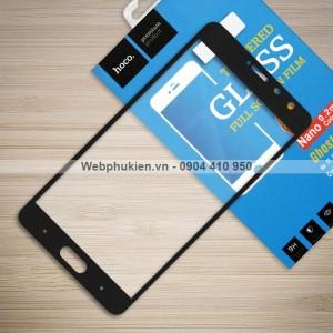 Miếng dán cường lực Xiaomi Redmi Pro hiệu HOCO Full màn hình (Đen)