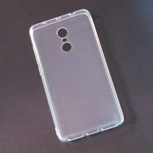 Ốp lưng Xiaomi Redmi Note 4X dẻo (trong suốt)