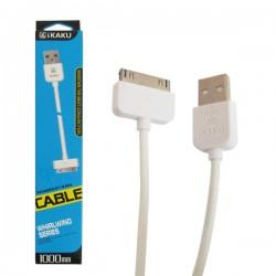 Cáp sạc USB iPhone 3/4 chính hãng iKaku