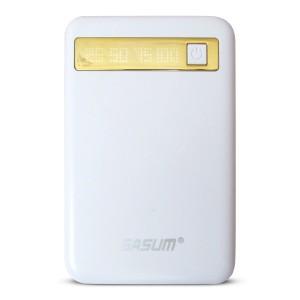 Pin sạc dự phòng chính hãng SASUM 10400mAh (đèn LED)