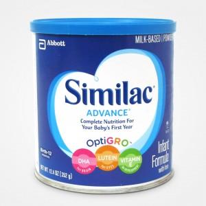 Sữa Bột Similac Advance bổ sung DHA, LUTEIN, VITAMIN E - Xách tay Mỹ