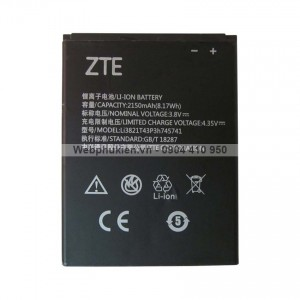 Pin ZTE Blade L5 Plus (Li3821T43P3h745741) - 2150mAh Original Battery