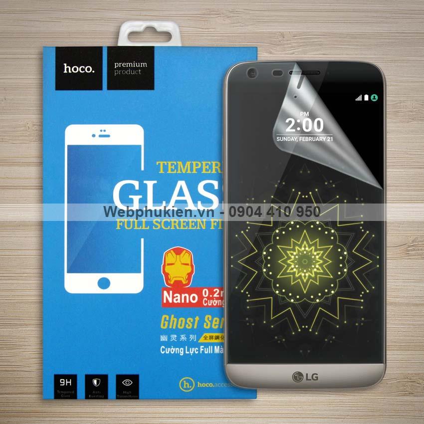 Miếng dán màn hình LG G5 hiệu Hoco Nano siêu dẻo