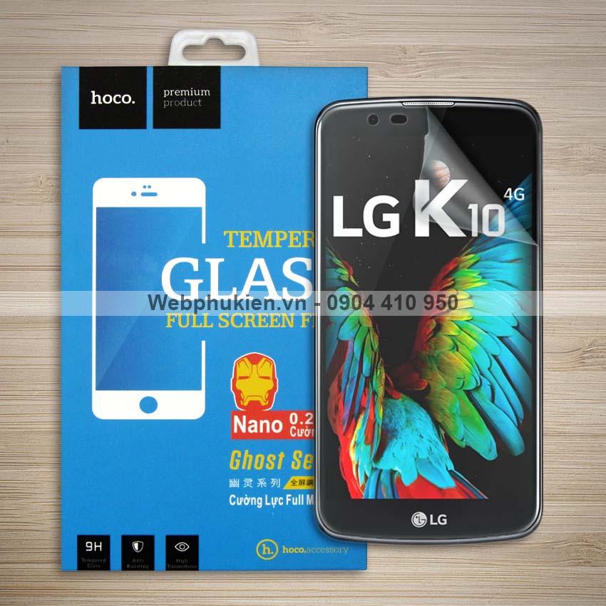 Miếng dán màn hình LG K10 2016 hiệu Hoco Nano siêu dẻo