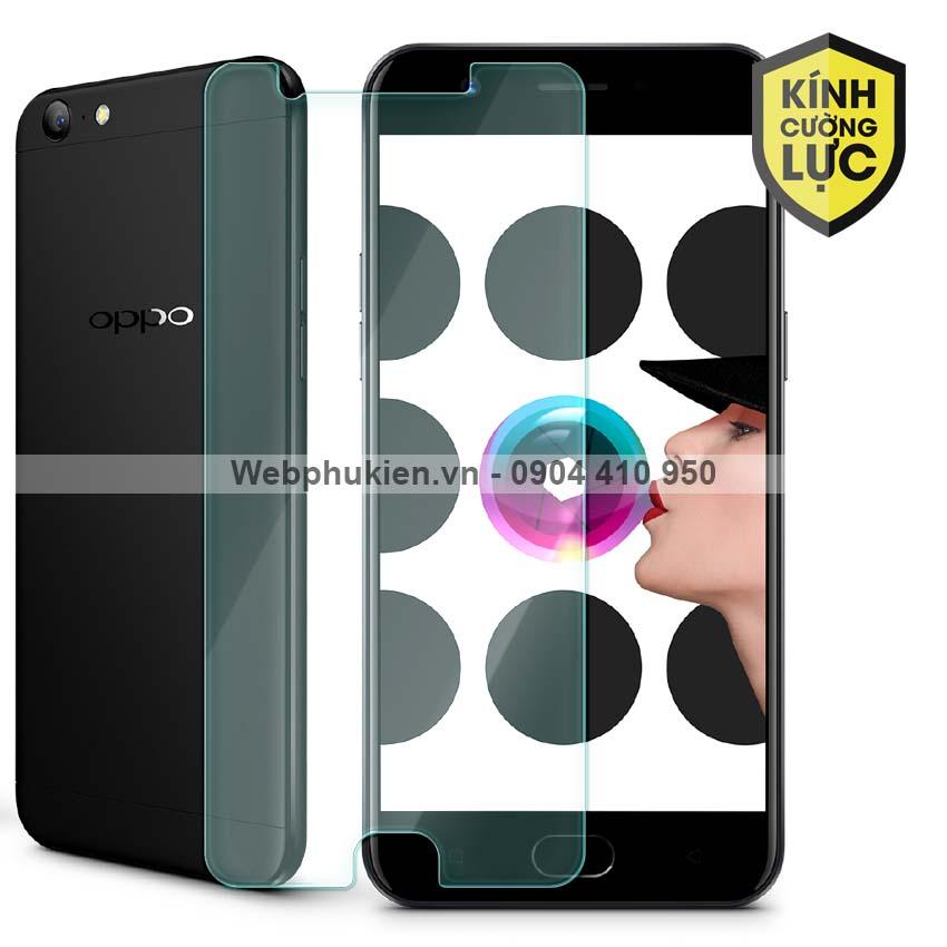 Miếng dán màn hình cường lực Oppo F3 Lite (A57)