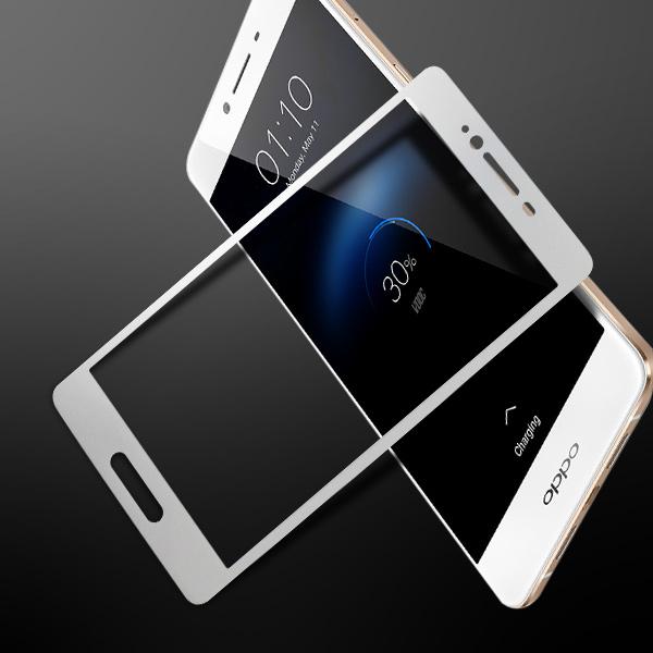 Miếng dán kính cường lực Oppo R7S Full màn hình