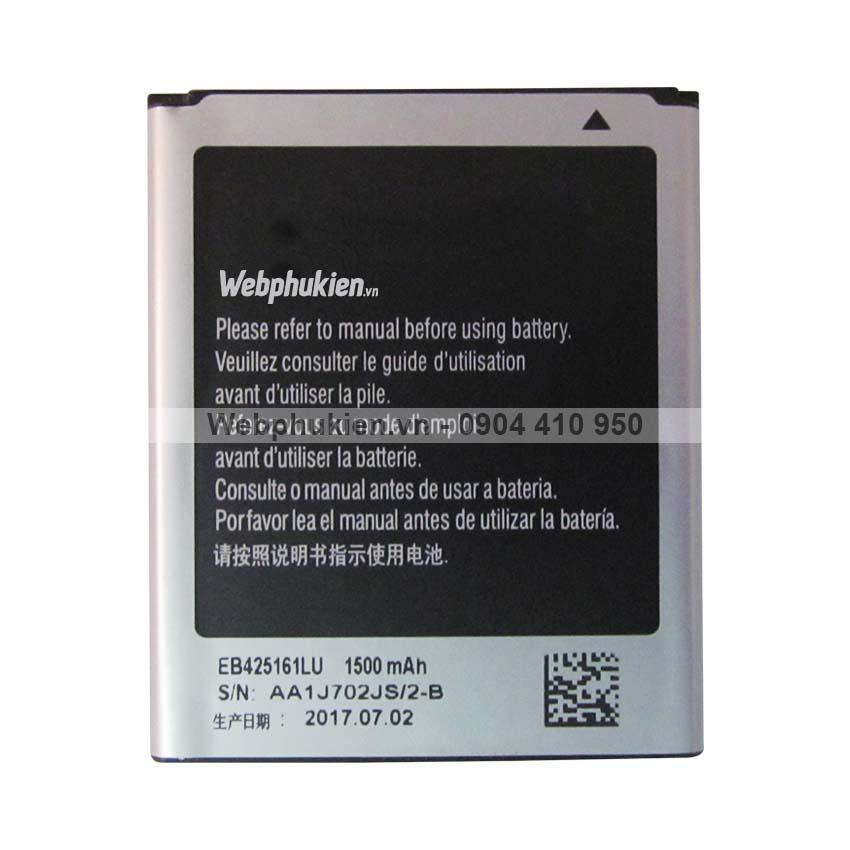 Pin Samsung Galaxy S Duos S7562 (EB425161LU) - 1500mAh Original Battery
