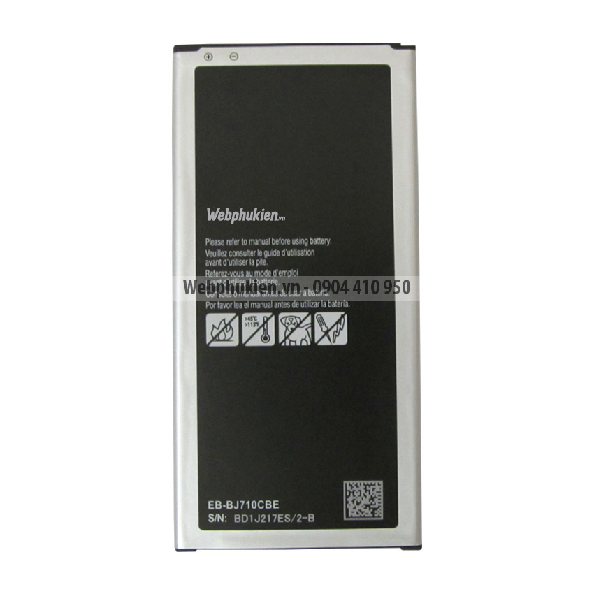 Pin Samsung Galaxy J7 2016 (SM-J710) - 3300mAh Original Battery