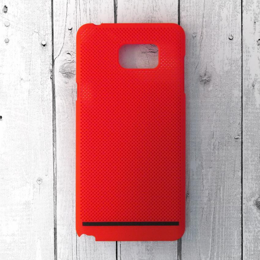 Ốp lưng lưới Samsung Galaxy Note 5 chống nóng (Đỏ)