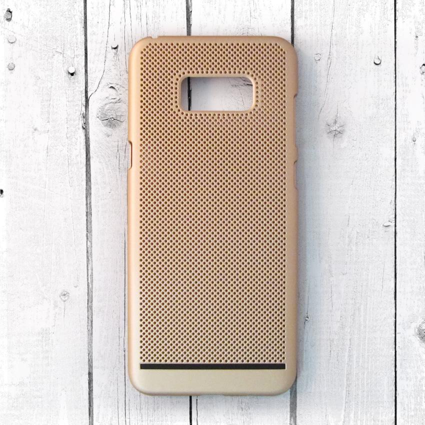 Ốp lưng lưới Samsung Galaxy S8 Plus chống nóng (Vàng) (2)