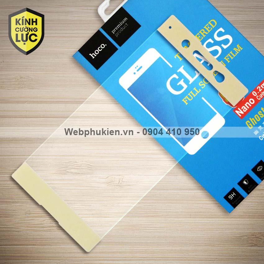 Miếng dán cường lực Sony Xperia XA1 Ultra hiệu HOCO Full màn hình (Vàng)