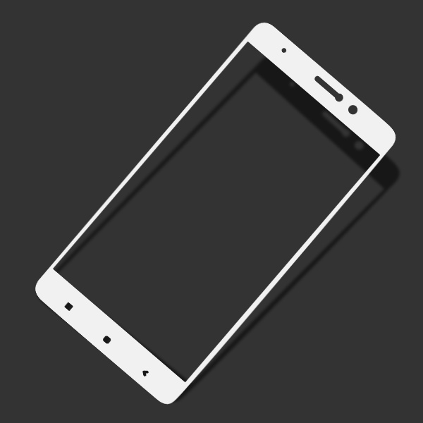 Miếng dán cường lực Xiaomi Mi 5S Plus 9H Full màn hình Trắng